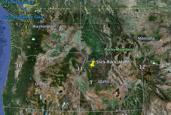 Slick Rock Idaho
