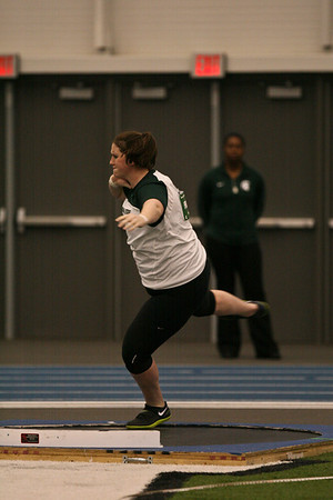 Shot Put - 2013 UM vs MSU Indoor Meet