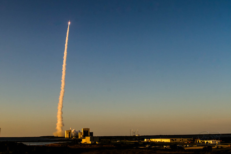 Atlas V launch of OSIRIS Rex