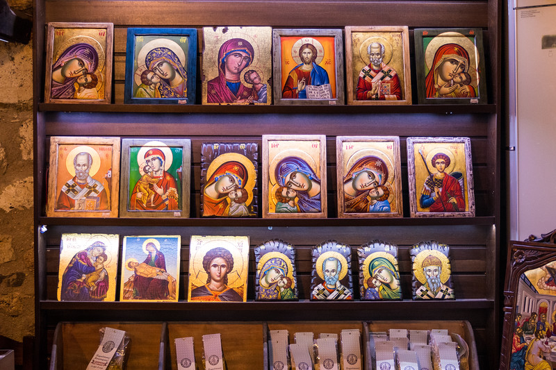 from Varlaam Monastery gift shop