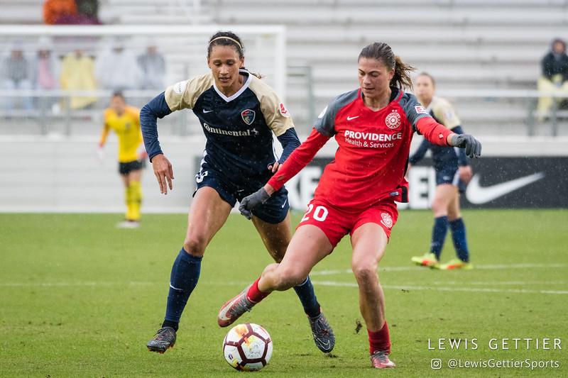 NWSL Regular Season - NC Courage vs Portland Thorns