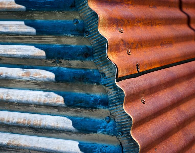 Corner Detail, Quonset Hut, Northern Michigan.jpg
