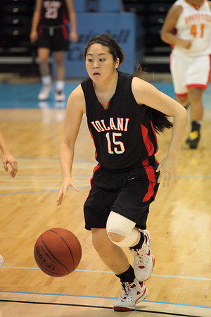 2009 HHSAA Girls - Roosevelt vs. 'Iolani