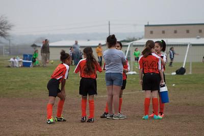 Cheetah Soccer Team 2014 Game 1