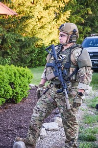 Moon Twp police incident SERT call out