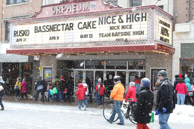 The Orpheum has seen a lot of changes in its day - time marches on through the cold of winter and the heat of summer.