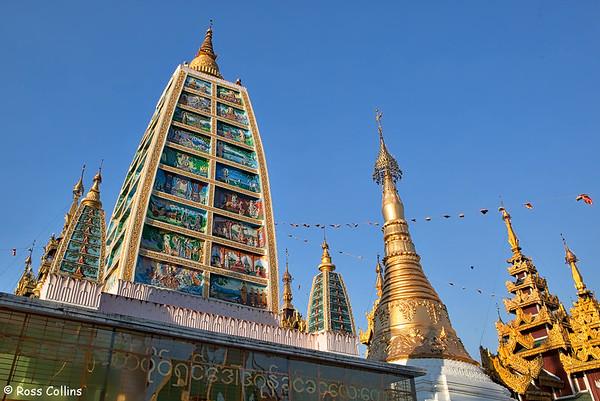 Shwedagon Pagoda 2013