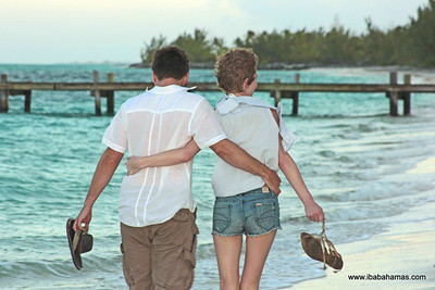 Lisa & Alex (2People1Life.com) - Exuma Point, Exuma, Bahamas