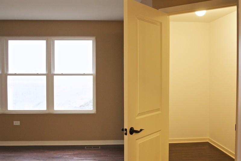 Master bedroom 1st closet