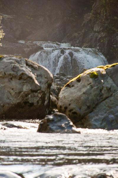 Falls and Boulders