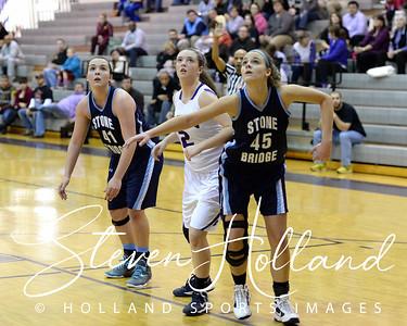 Girls Basketball - Varsity: Stone Bridge vs Potomac Falls 2.20.14 (by Steven Holland)