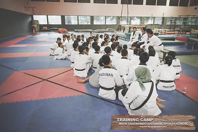 Training Camp with Taekwondo Ragunan 2017