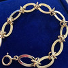 Vintage Yellow Gold Bracelet, 18kt 1