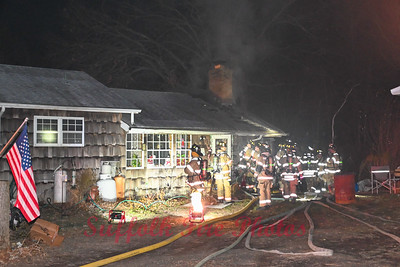 Dwelling Fire - South St, Manorville, NY - 12/10/20