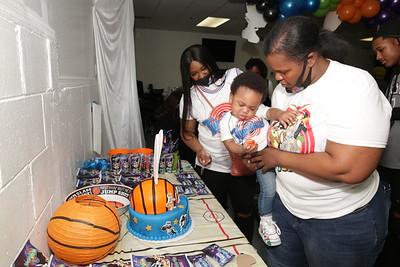 ISAIAHS 1ST BIRTHDAY