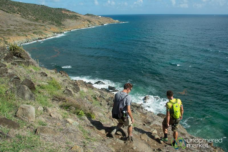 Hiking along Guana Bay - St. Maarten