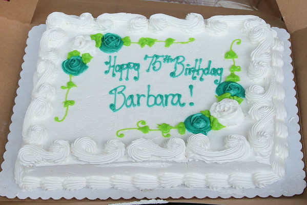 Barbara Jean's 75th Birthday