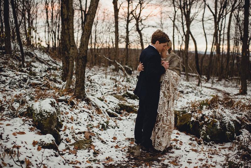 Requiem Images - Luxury Boho Winter Mountain Intimate Wedding - Seven Springs - Laurel Highlands - Blake Holly -1357.jpg