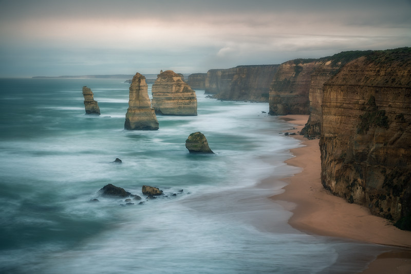 Somber Shores || The Great Ocean Road