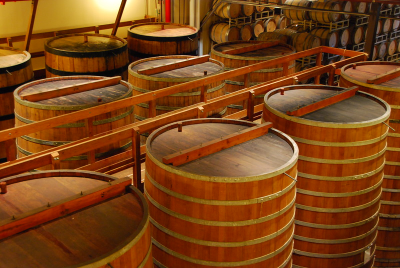 Aging casks at Sterling.