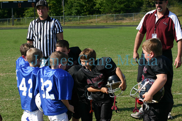 6yo War Eagles vs Towns - Sept. 20, 2008