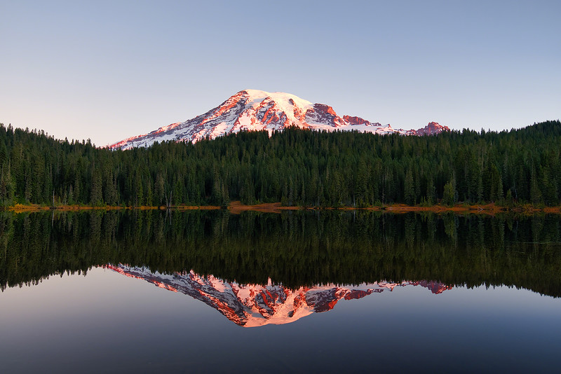 Mount Rainier Alpenglow