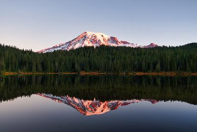 Mount Rainier Alpenglow