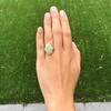 5.01ct Art Deco Opal and Diamond Ring 17