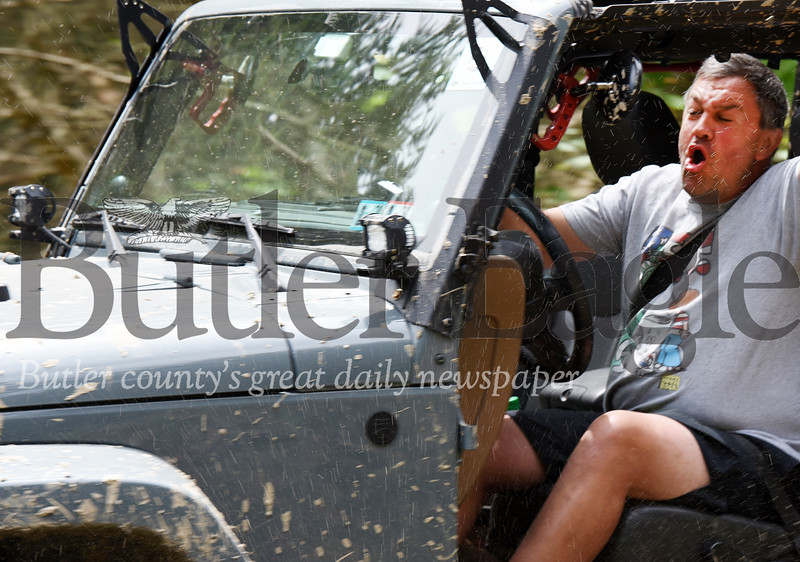 Harold Aughton/Butler Eagle: Several thousand jeep enthusiasts from 22 states gathered at Cooper's Lake for the 9th Annual Bantam Jeep Festival, Saturday, June 8.