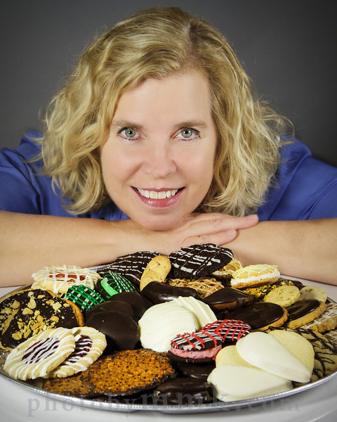 Barbara Weniger - owner Cookie Time Bakery,  Arlington, MA