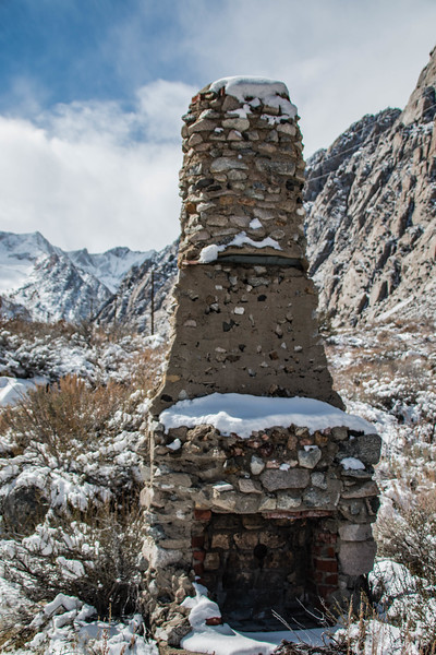 Chimney with Snow