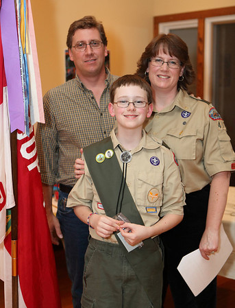 Guilford Scout Troop 472 Court of Honor - Oct 2012