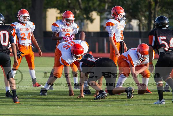Boone Freshman Football #24 - 2012