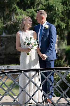 John and Dawn Wedding