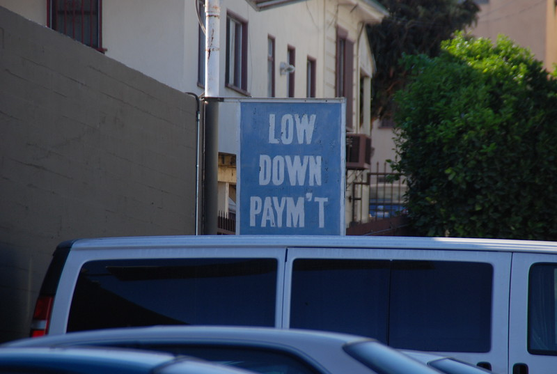 2010, Old Dealership Sign