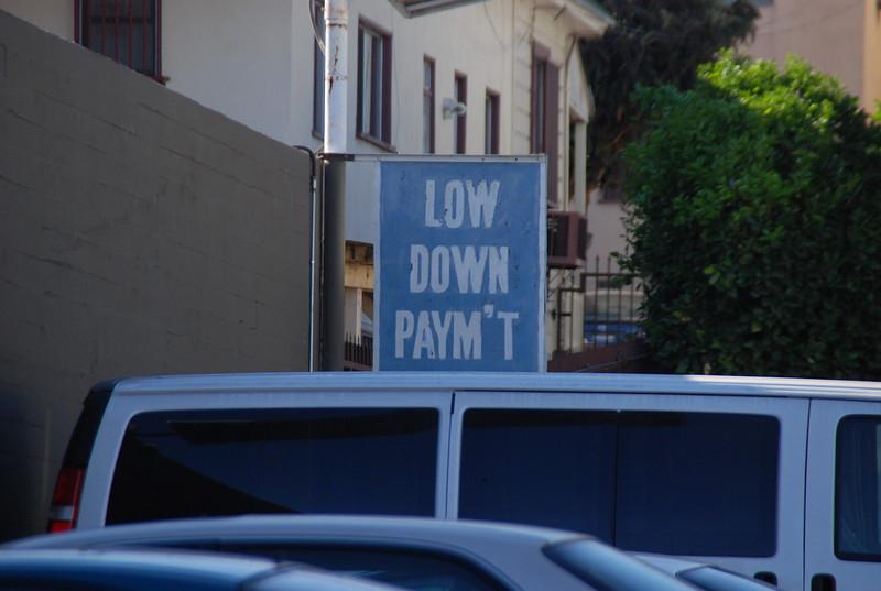 2010, Old Dealership Sign