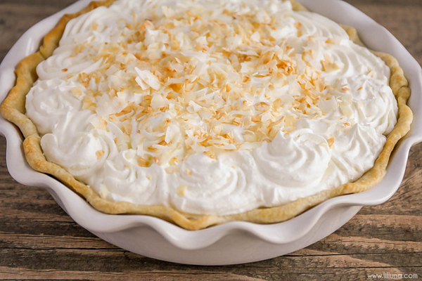 Easy Old Fashioned Coconut Cream Pie