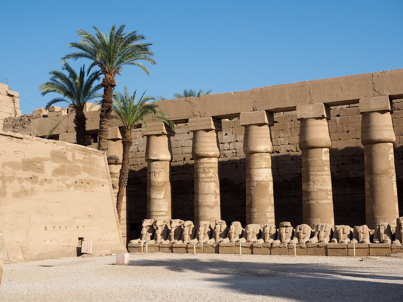 Karnak Temple Complex in Egypt