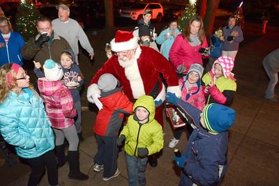 Santa comes to Northumberland