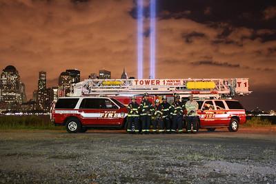 September 11, 2010  Tribute of light  & Apparatus