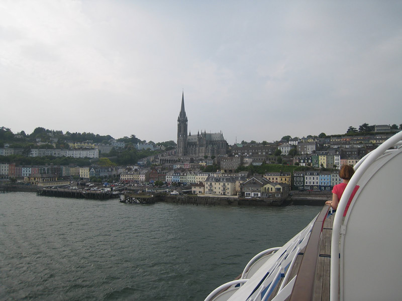Sail away form Cobh
