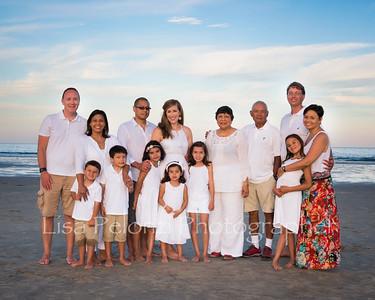 Megan's Family at the Beach 2016