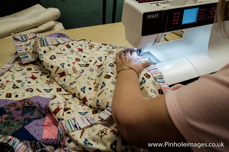 Project Linus Quilting Day at The Cotton Patch Studio