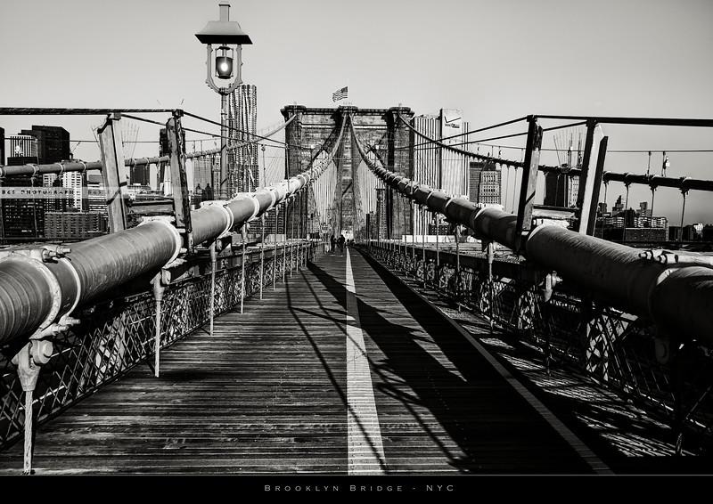 Brooklyn Bridge on the morning