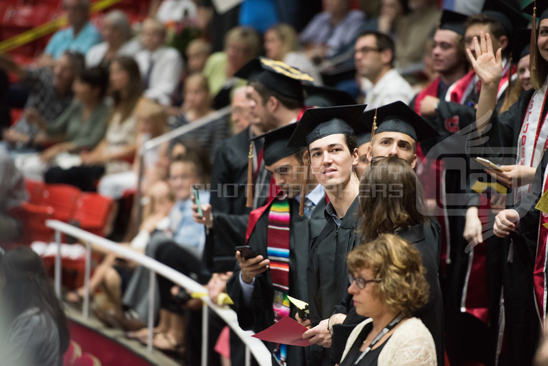2017 University of Utah Graduation - Zev