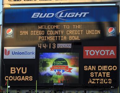 Poinsettia Bowl 2012 BYU vs SDSU
