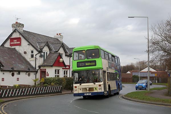 31st December 2016: Preston Bus Olympian Farewell