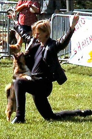 15 mei 2004 Dogdancewedstrijd KC Zeeland