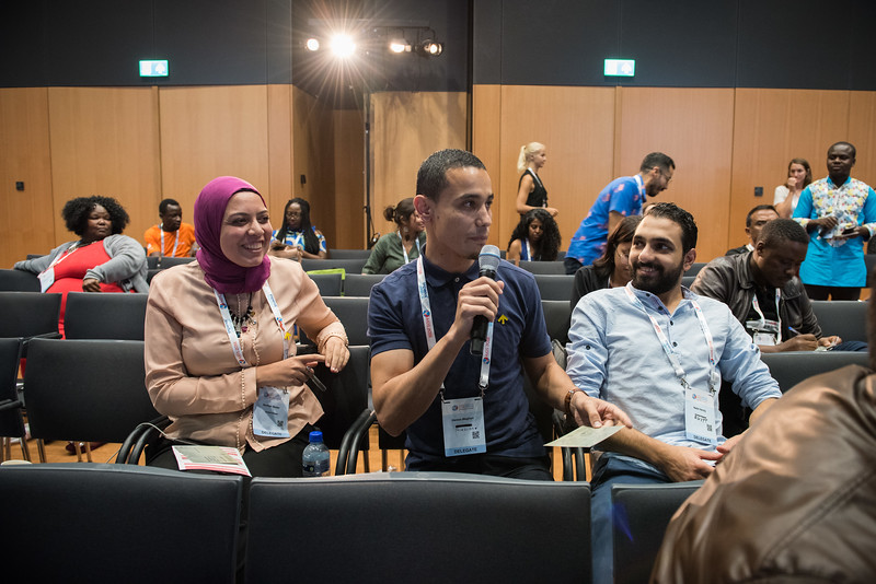 22nd International AIDS Conference (AIDS 2018) Amsterdam, Netherlands   Copyright: Marcus Rose/IAS  Photo shows: Generation Now: Our health, Our Rights. Putting Words into Action: Taking Integration Forward in our Movement.
