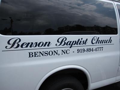 Benson Baptist Church, NC @ Hamptons at Lenox